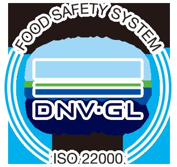 ISO22000認證標章