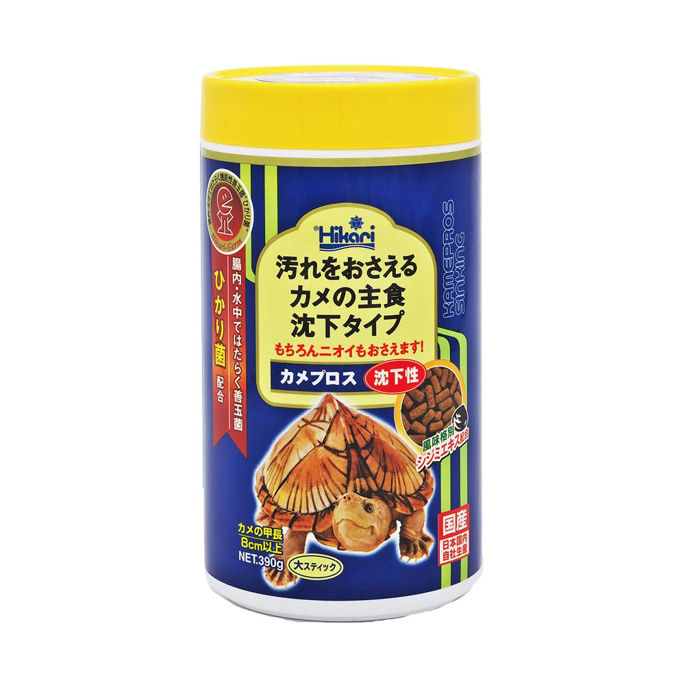 Saki-Hikari 沉水性 善玉菌烏龜飼料 L顆粒 390g