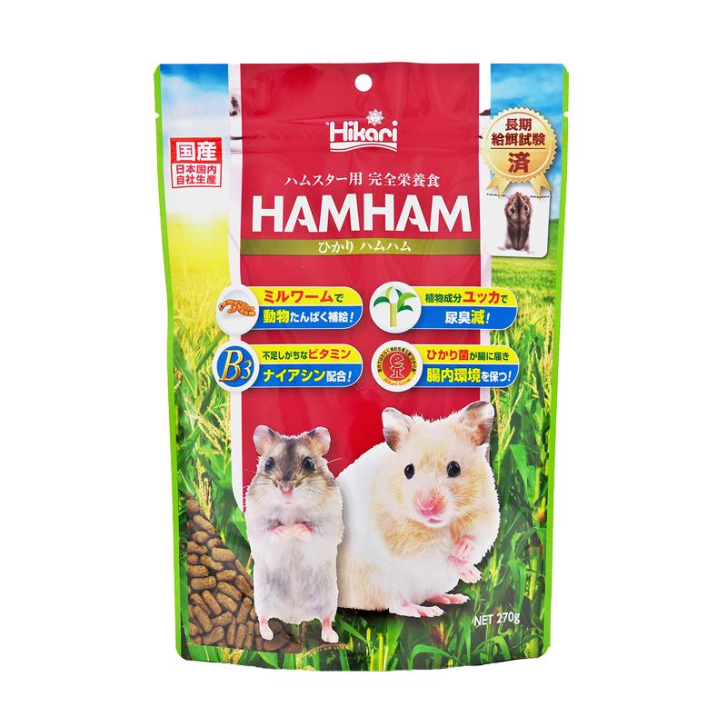 高夠力  HAMHAM 高適口性倉鼠飼料
