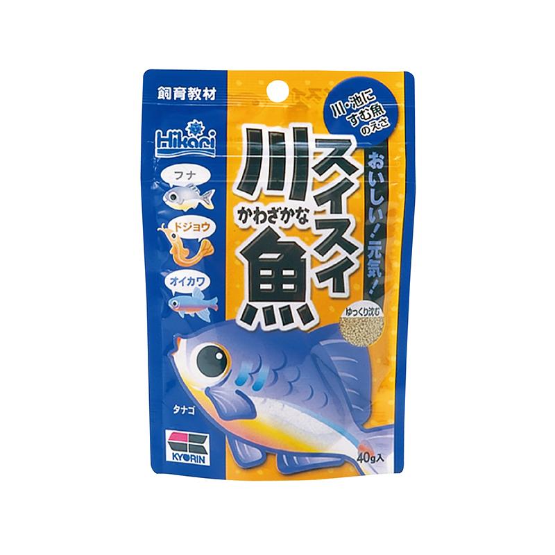 高夠力 小型魚 川魚飼料  (飼育教材)